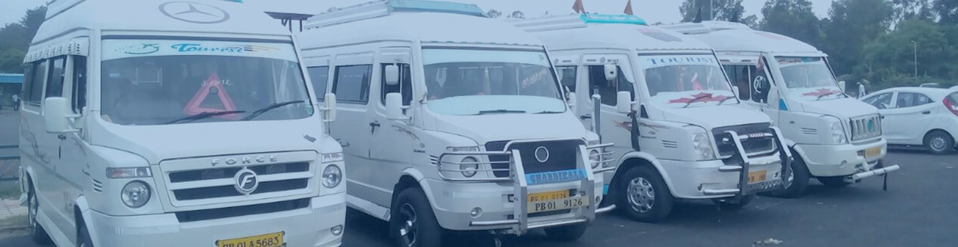 best tempo traveller chandigarh