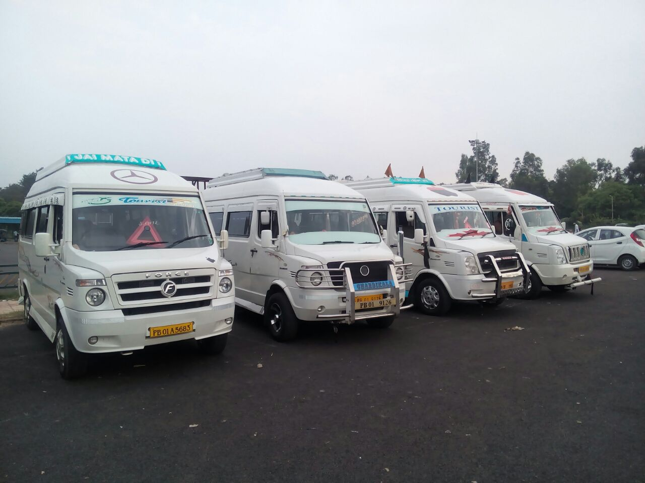 tempo traveller booking in Mohali