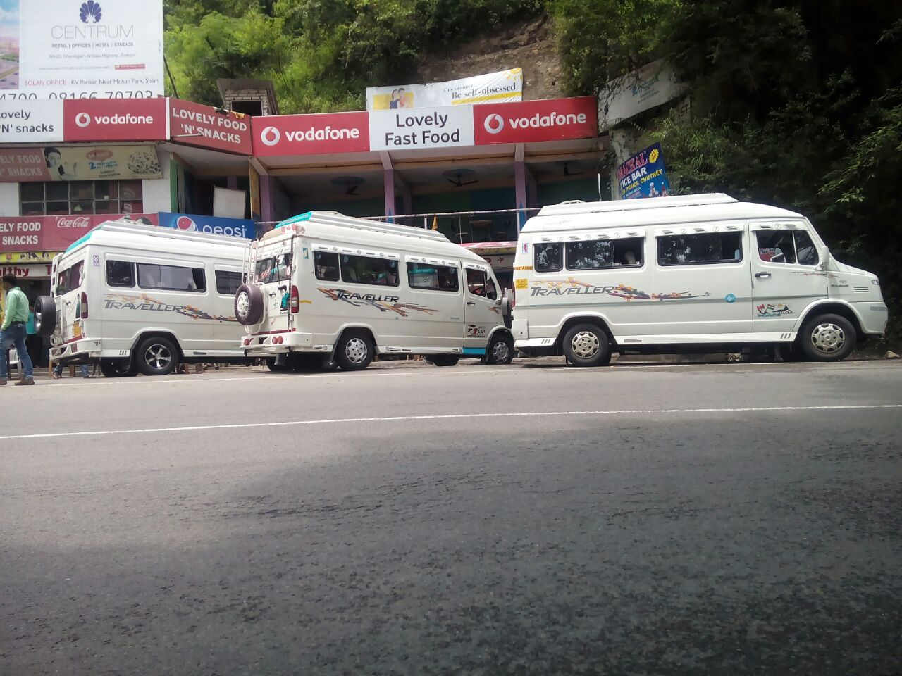 Chandigarh tempo travellers