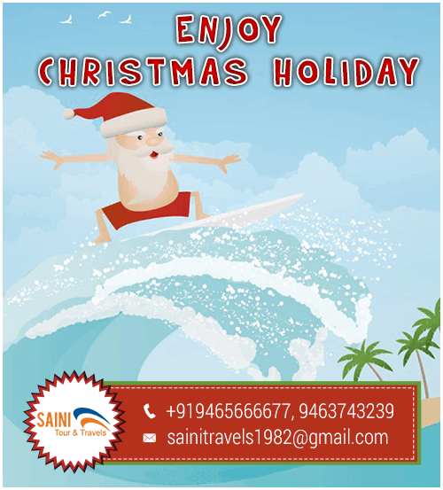 Enjoy Christmas Offers Saini Tour & Travels